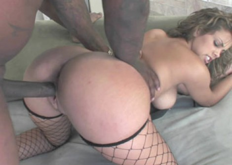Latina coed Katie takes some black dick